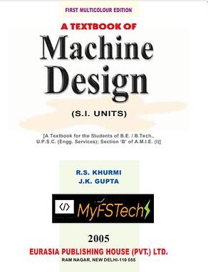 Machine Design Book by R.S. Khurmi
