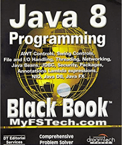 Java 8 Programming Black Book Free Download [PDF]